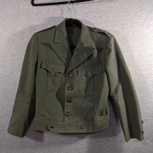 Vtg Military Jacket
